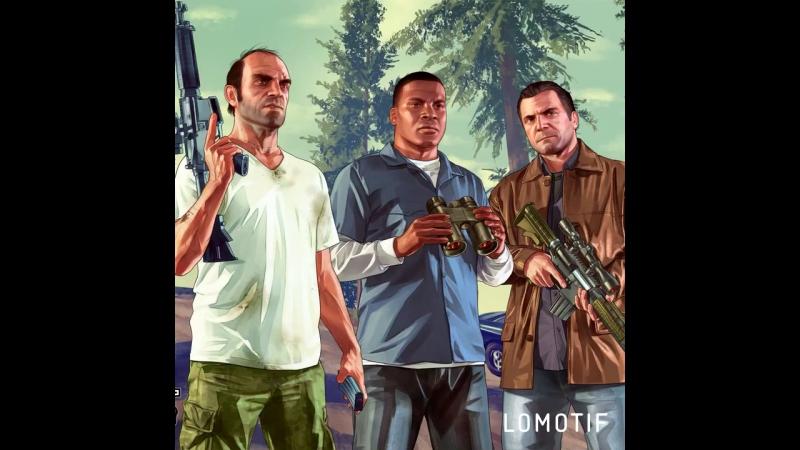 Персонажи из игры grand theft auto V