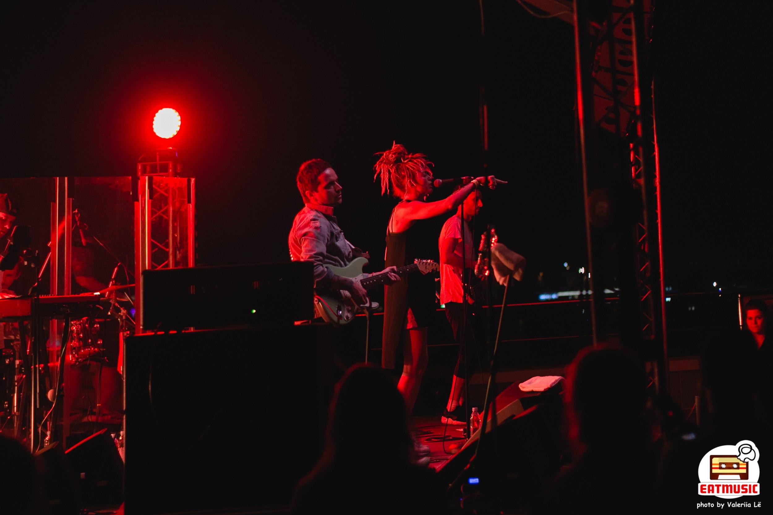 Концерт Alai Oli на крыше InCloud в Москве 13-08-2017: репортаж, фото Валерия Литвак