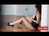 Ashley Emma black body suit and legs