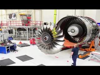 Как роллс-ройс собирает двигатели для Боингов и Айрбасов