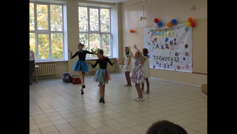 6а класс школа №5 Танец на корабле