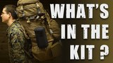 What's in the backpack of a US Marine on cold weather training