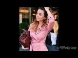 Модные луки 2018 в нежно - розовых оттенках.