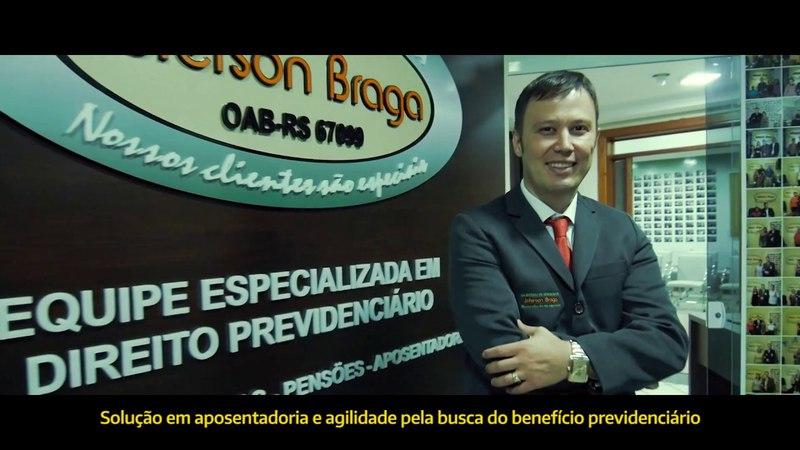 Escritório de Advocacia Jeferson Braga - Institucional 2016 Legendado
