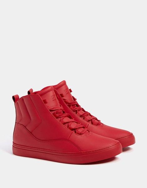 Однотонные стеганые мужские спортивные ботинки