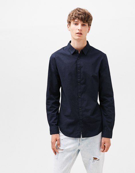 Рубашка из поплина