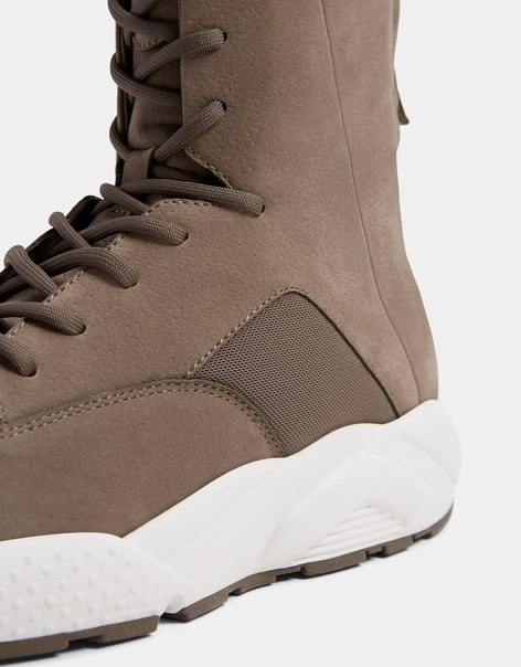 Комбинированные мужские спортивные ботинки