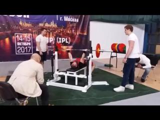 Кубок Москвы IPL СПР Народный Жим! 77.5 кг на 58 повторений!
