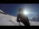 спуск с вершины горы Мусса-Ачитара