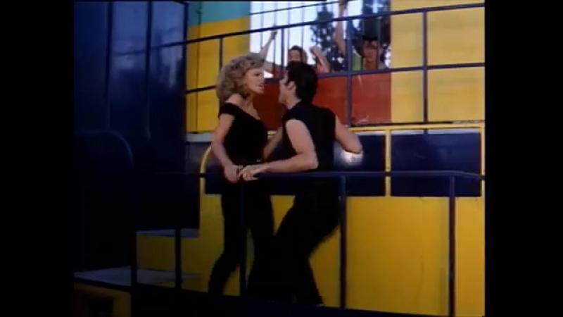 Grease John Travolta And Olivia Newton John Youre The One That I Want