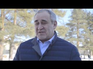 Сергей Неверов проголосовал на выборах Президента в Смоленске