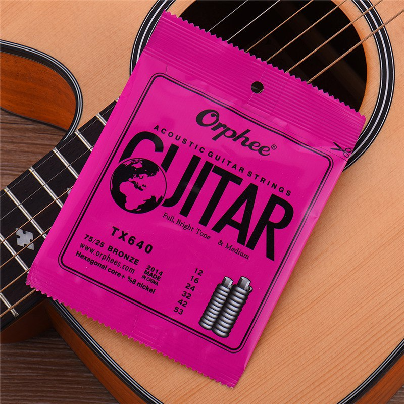 6 гитарных струн 260