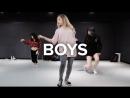 1Million dance studio Boys - Charli XCX  Beginners Class