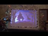3D-панно со светодиодной подсветкой