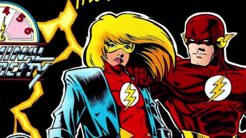 Джесси Квик [Origin] DC Comics