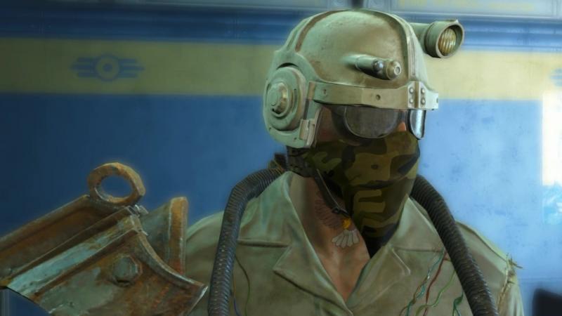 Fallout 4 один из симптомов облучённого бухла)