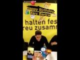Бартру поздравляют с днем рождения