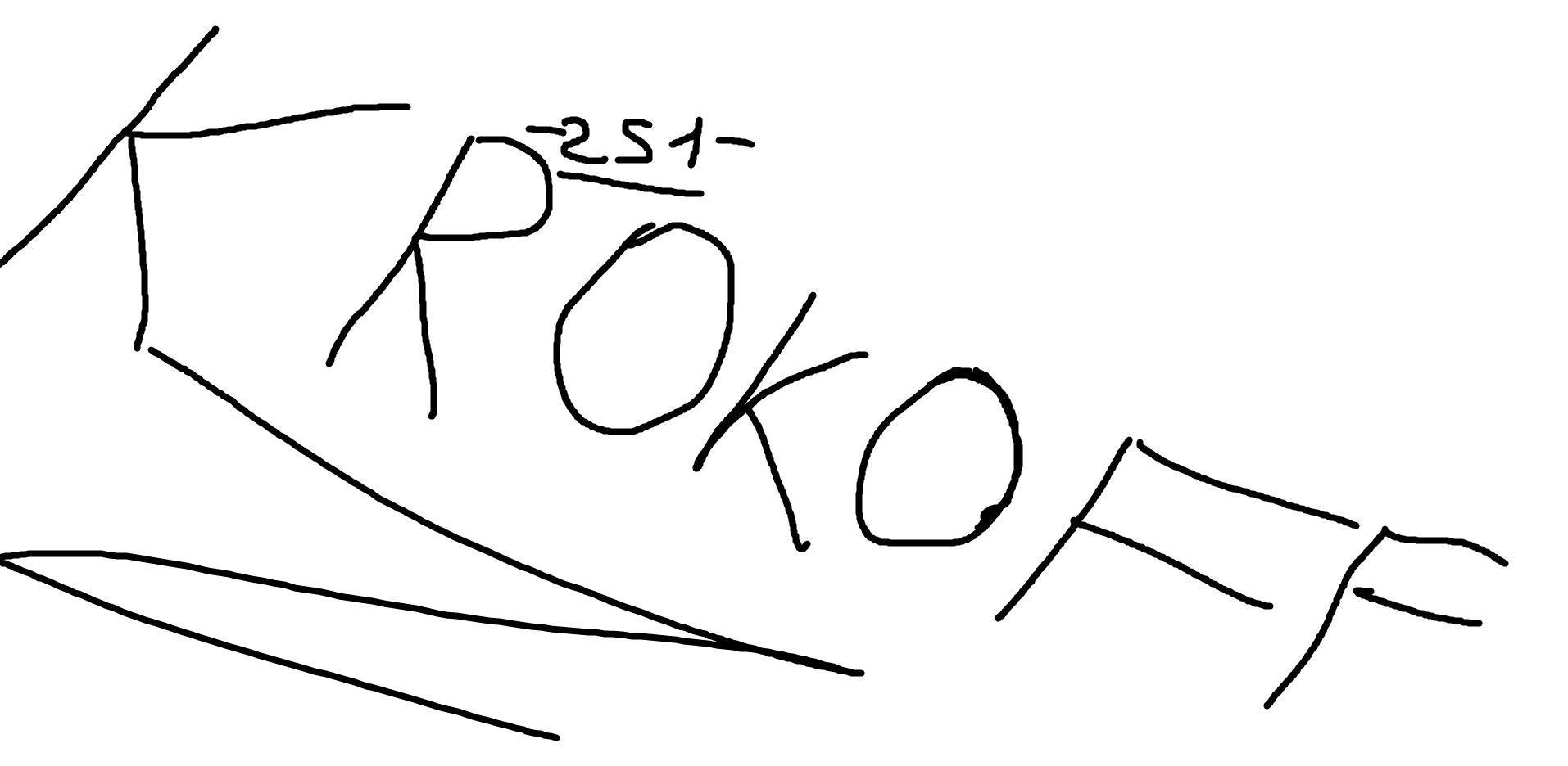 KROKOFF | Купить роспись ВКонтакте на SignDonate