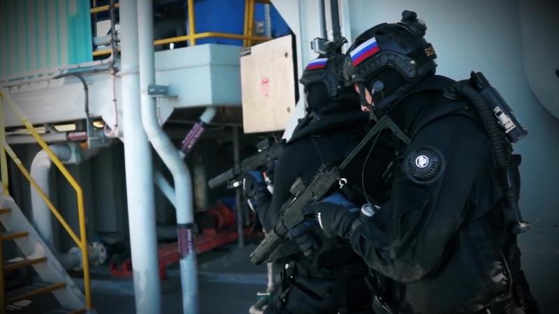 Учения спецназа ФСБ Альфа Вымпел Крым 2017