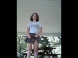 This is how I do gymnastics and sing