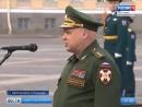 ТК Россия 1 - На Дворцовой площади впервые прошел смотр и развод подразделений Росгвардии