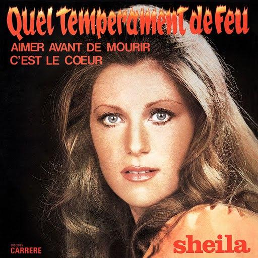 Sheila альбом Quel tempérament de feu