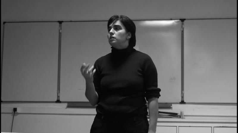 Фрагмент лекции ведущего преподавателя МШНК Ксении Голубович.