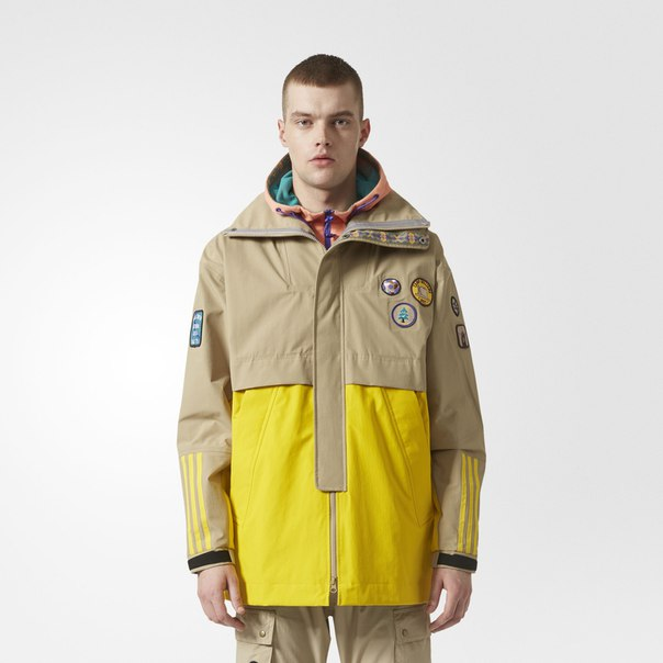 Куртка Pharrell Williams Hu Hiking 3-Layer