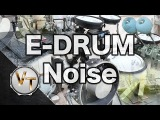 Reducing Electronic Drum Noise