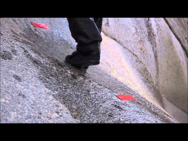 River Grip test: Submerged to Granite Slab
