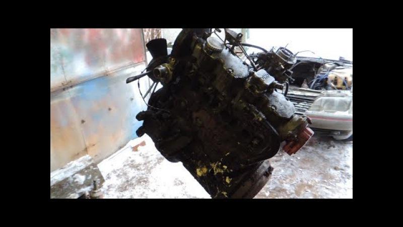Opel по дешману,как я мотор снимал