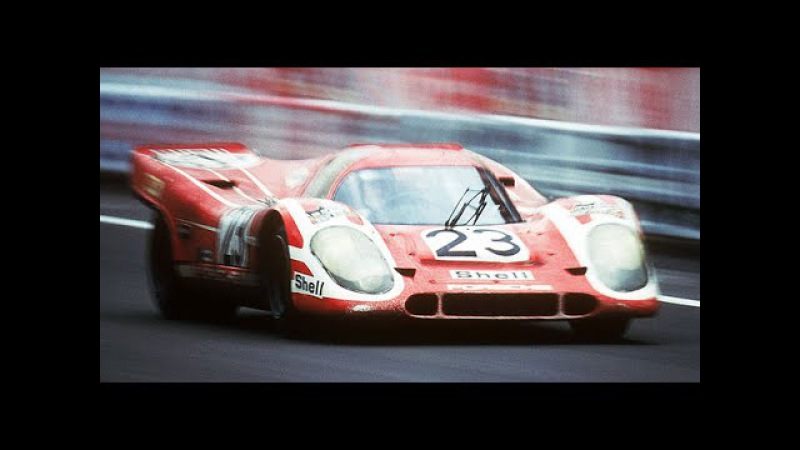 Historic Porsche Racecar 917 - LeMans Winner and 1100 HP CanAM series Winner, 935 Moby Dick, 936 002