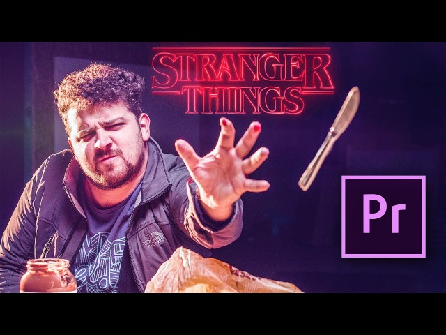 MIND CONTROL Objects in Premiere Pro Stranger Things