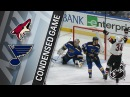 01/20/18 Condensed Game: Coyotes @ Blues