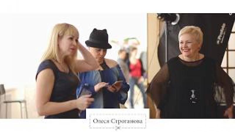 Творческий процесс Олеси Строгановой (Весенняя коллекция)