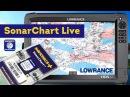 Картография в режиме реального времени SonarChart Live на Lowrance
