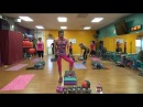 MODERATE Impact Step Cardio Emphasizing Biceps, Shoulders and Triceps