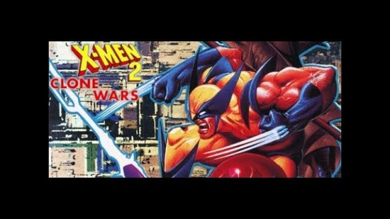 Sega, X-Men 2 Clone Wars, Полное прохождение