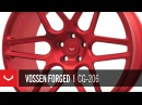 Vossen Forged CG-206 Polished Scarlet Red