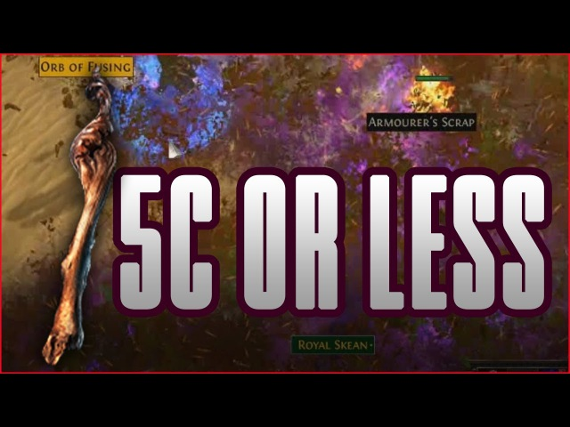 3.0 Path Of Exile - 5c or less explosion wander