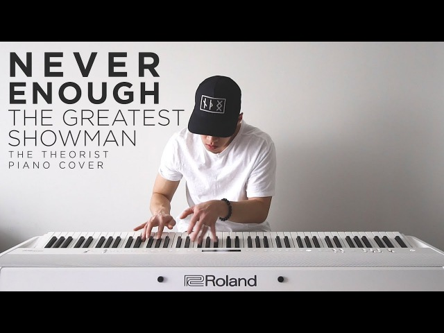The Greatest Showman (Loren Allred) - Never Enough   The Theorist Piano Cover