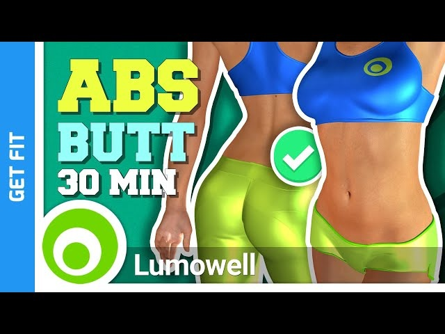 30 Minute Abs And Butt Toning Workout