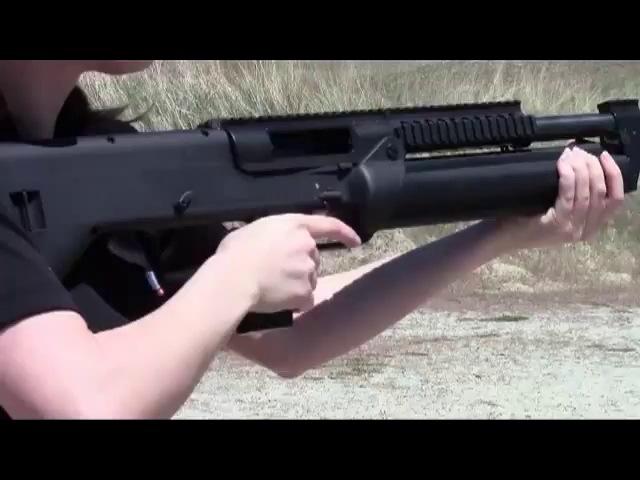 Новое автоматическое 16-зарядное ружье от SRM Arms
