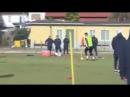 Гол Патрика Шика на тренировке ⚽️ AS Roma