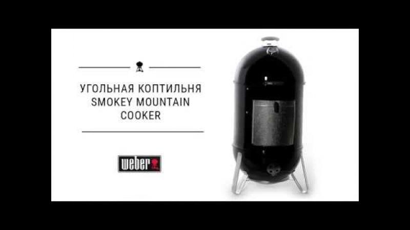 Угольная коптильня Weber Smokey Mountain