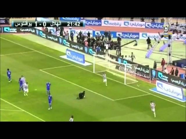 2°Gol di Del Piero nell'amichevole Al Hilal Juventus 1 7