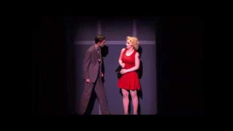 Timothée Chalamet in 'Sweet Charity' (LaGuardia HS production)