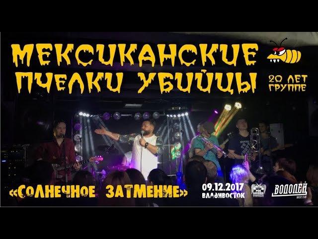 Мексиканские Пчелки-Убийцы - Солнечное затмение (Live, Владивосток, 09.12.2017)