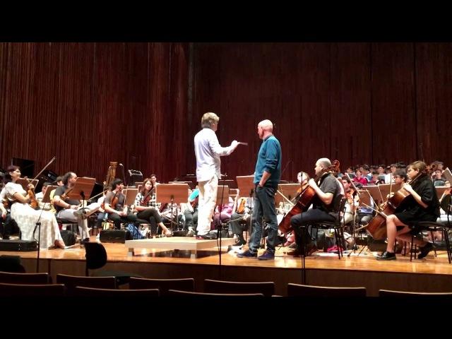 Carl Orff: Carmina Burana - Arno Argos Raunig, Exclusive video from rehearsal